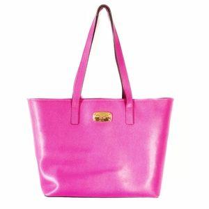 Michael Kors   Barbie Pebbled Pink Tote Bag Large
